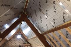 Verbouwing bovenverdieping: dakisolatie bovenverdieping