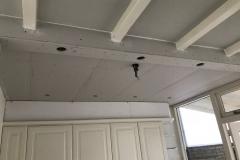 Gipsplafond met koof