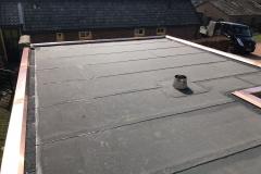 Veranda dak met koperen kraaldelen